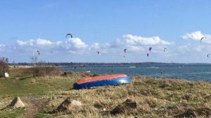 Danmark Nordsjælland Lynæs Kitesurfing Travel
