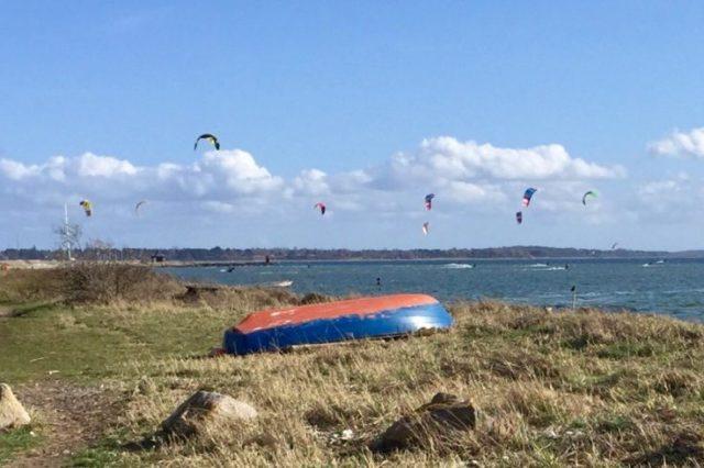 Danimarca Nord Zelanda Lynæs Kitesurfing Travel