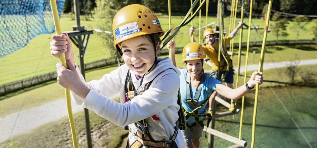 Østrig - Flachau - high ropes course - rejser