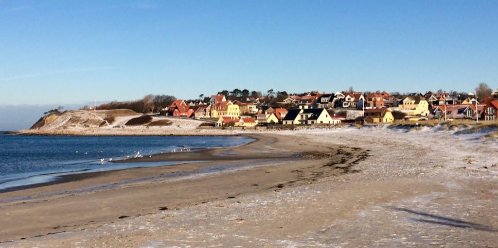 Danmark Nordsjælland rejser Trekanten Hundested havn