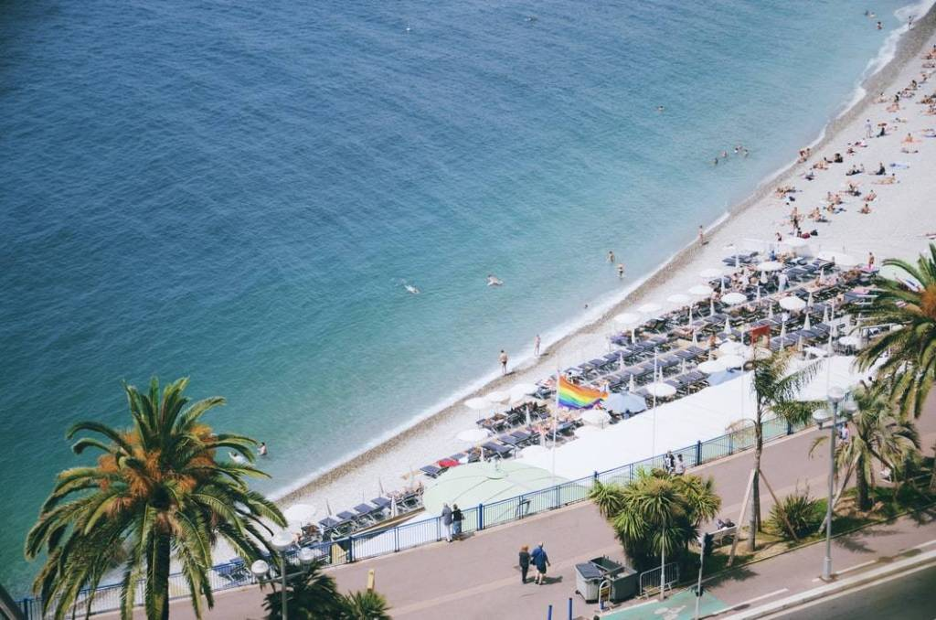 Frankrig Côte d'Azur Juan Les Pins Rejser