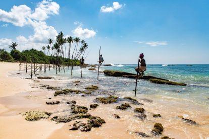 Lokalno putovanje na plažu Šri Lanka