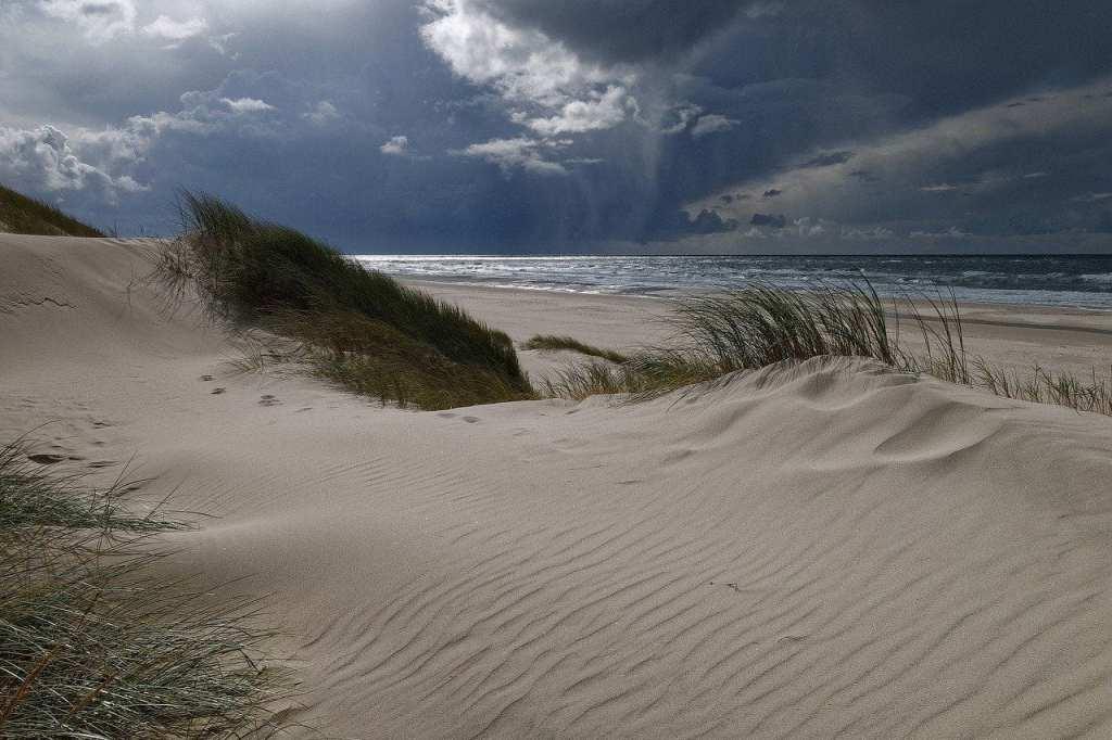 Danmark Jylland Vesterhavet rejser