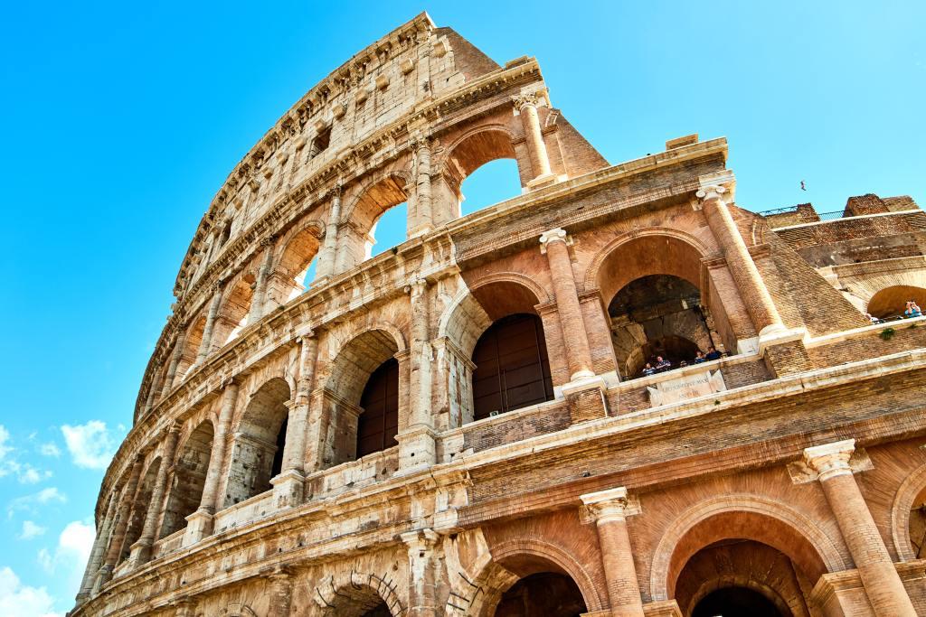 italien rom colloseum rejser efterårsferie