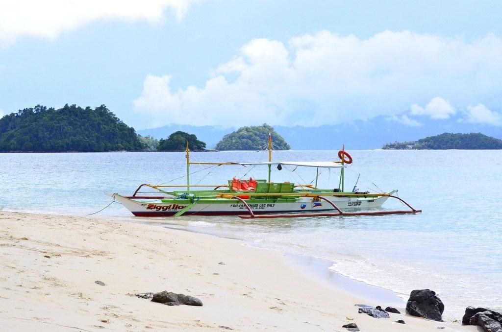 Port Barton, Filippinerne, filippinernes øer, båd, strand, rejser