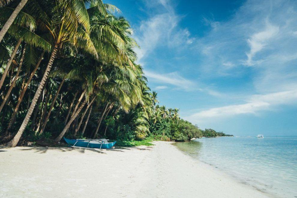 Filippinerne, strand, beach, rejser