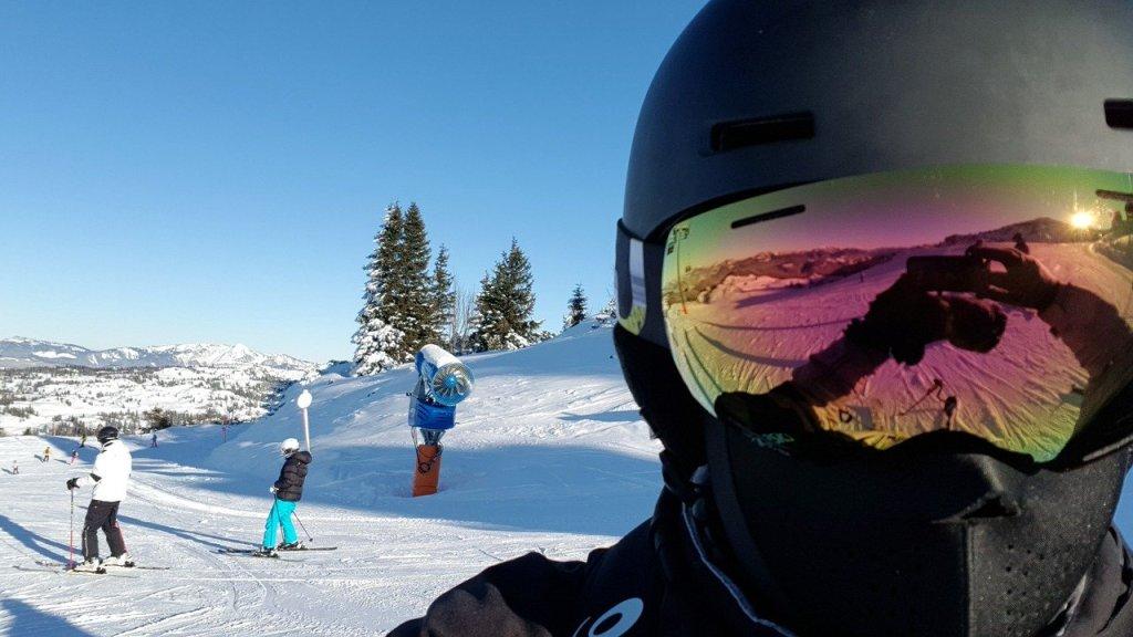 Østrig - ski, selfie - rejser