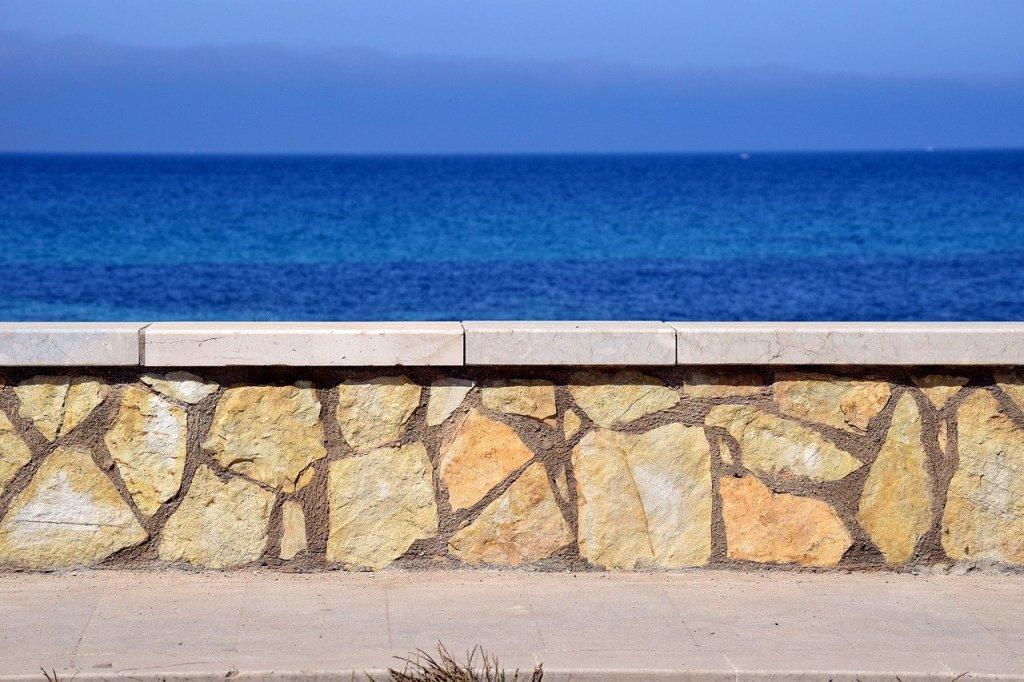 Coastal water sea travel