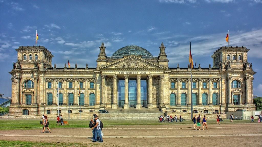 Tyskland - Berlin, Reichstag - rejser