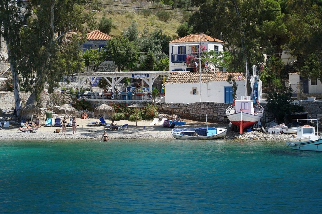 Grækenland Hydra Bilfri Ø Rejser