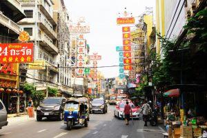 Thailand Bangkok Trafik By Rejser