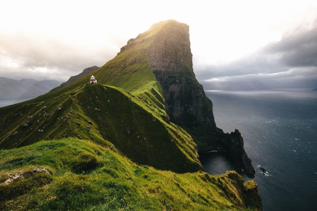 איי פארו - ההר הירוק - נסיעה