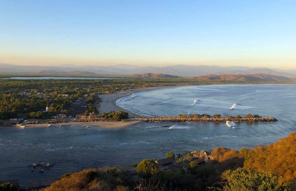 Mexico, Laguna de chacahua