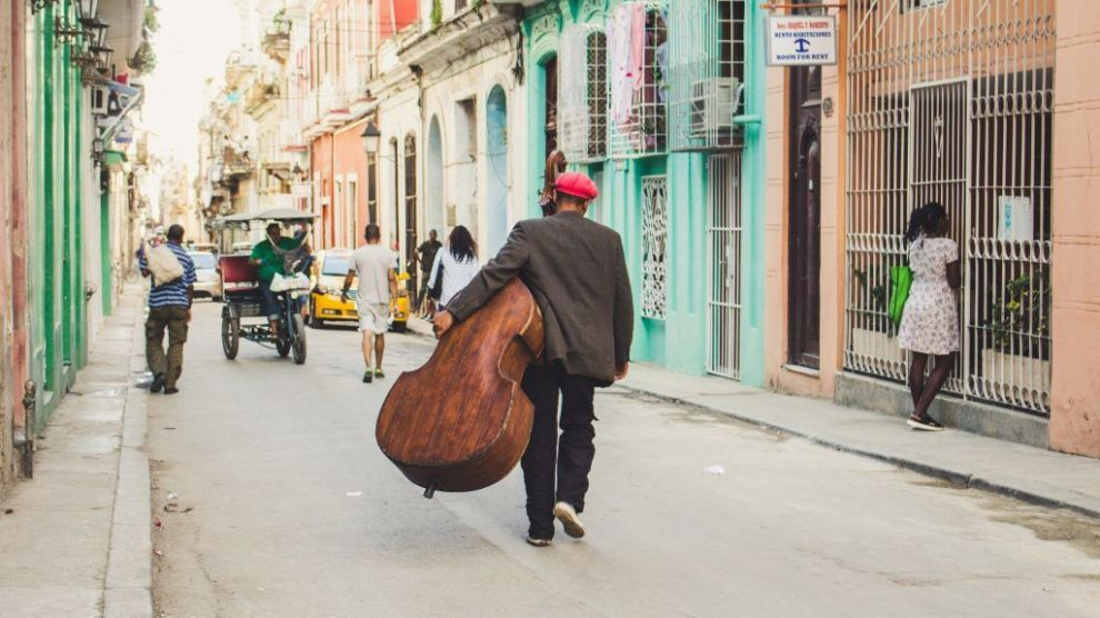 Cuba Havana Mand Gade Rejser