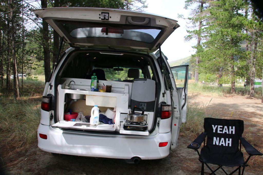 New Zealand Banks Peninsula Camping South Island Travel