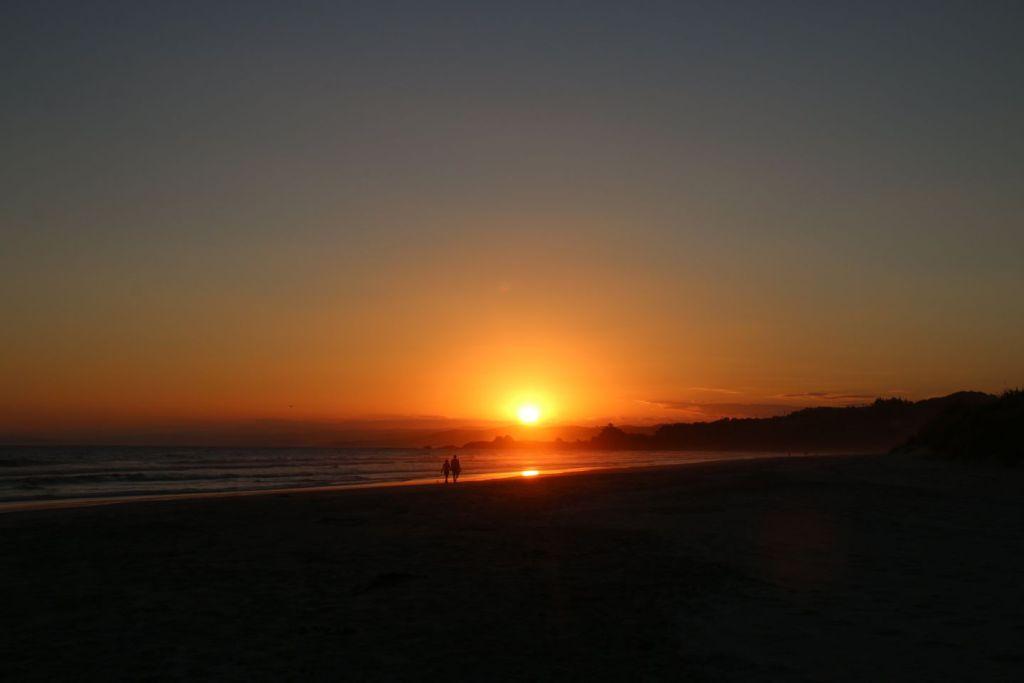 New Zealand Dundin Solnedgang Rejser