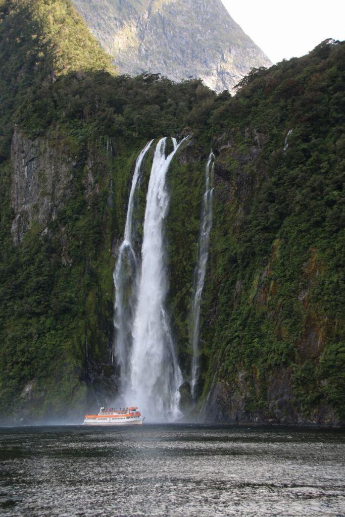 New Zealand Milford Sound Vandfald Rejser