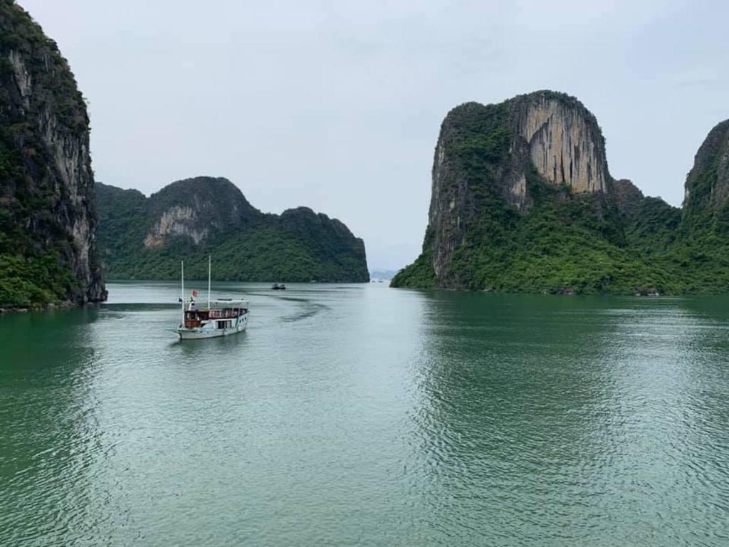 Vietnam Ha Long Bay Bugten Bådtur Rejser