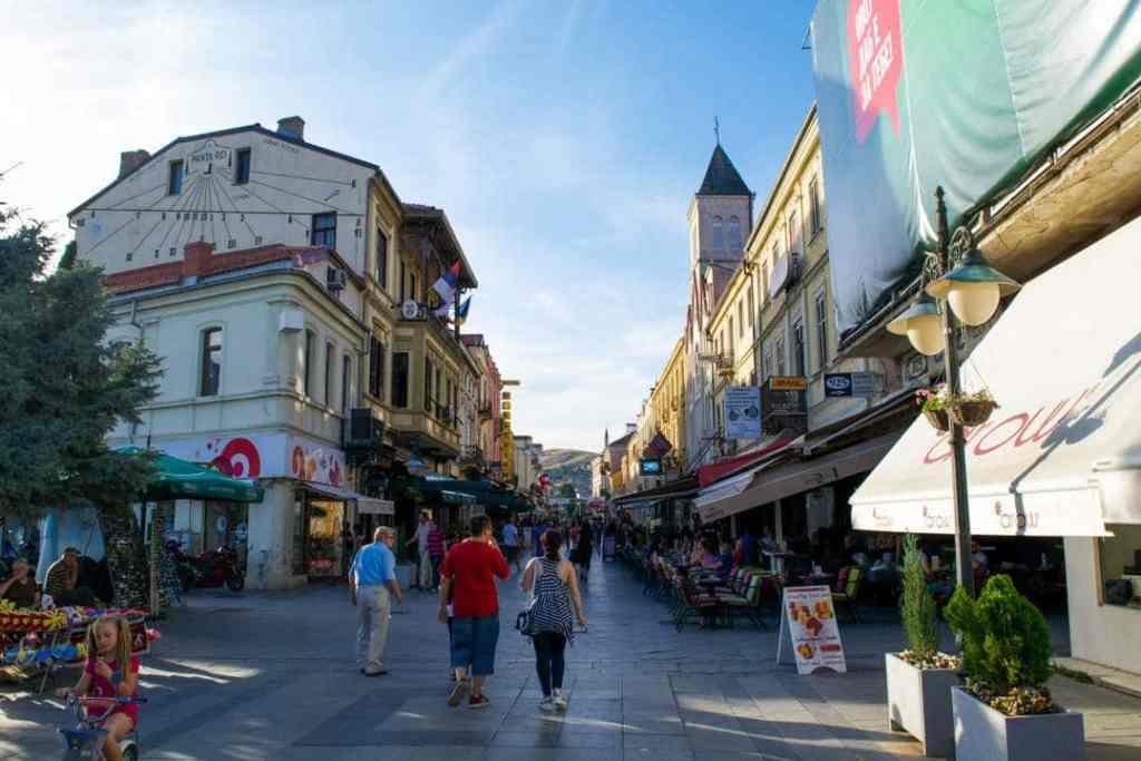 Nordmakedonien Balkan Bitola Gade Rejser