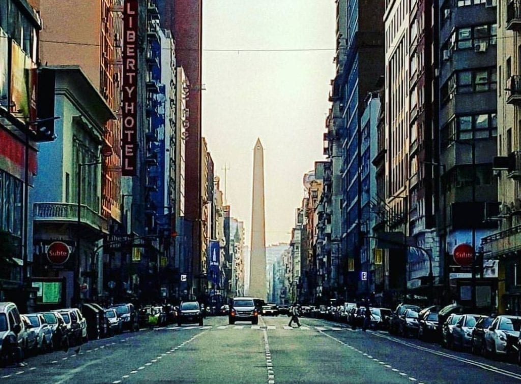 Argentina - Buenos AIres - Microcentro - gade - rejser
