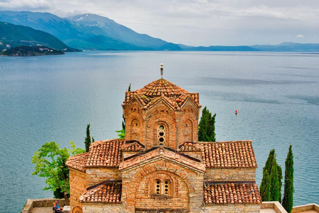 Nordmakedonien Lake Ohrid Kloster Rejser