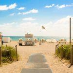 USA Miami South Beach Strand Roadtrip Rejser