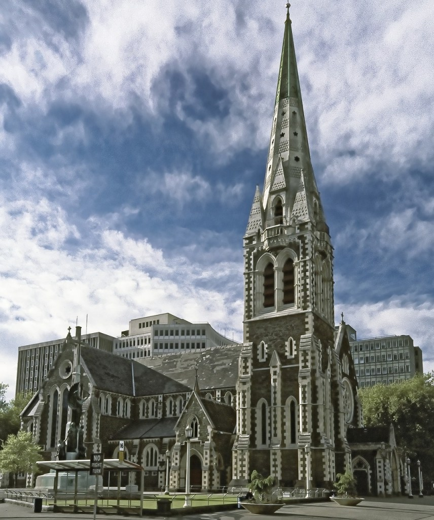 New Zealand Christchurch Cathedral Travel