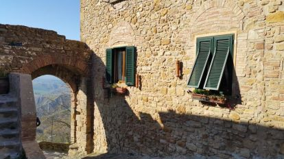 Italy Volterra Building travel