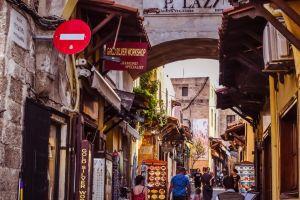 Grækenland Rhodos gade rejser