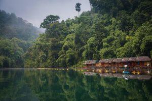 Thailand Khao Leam Flod rejser