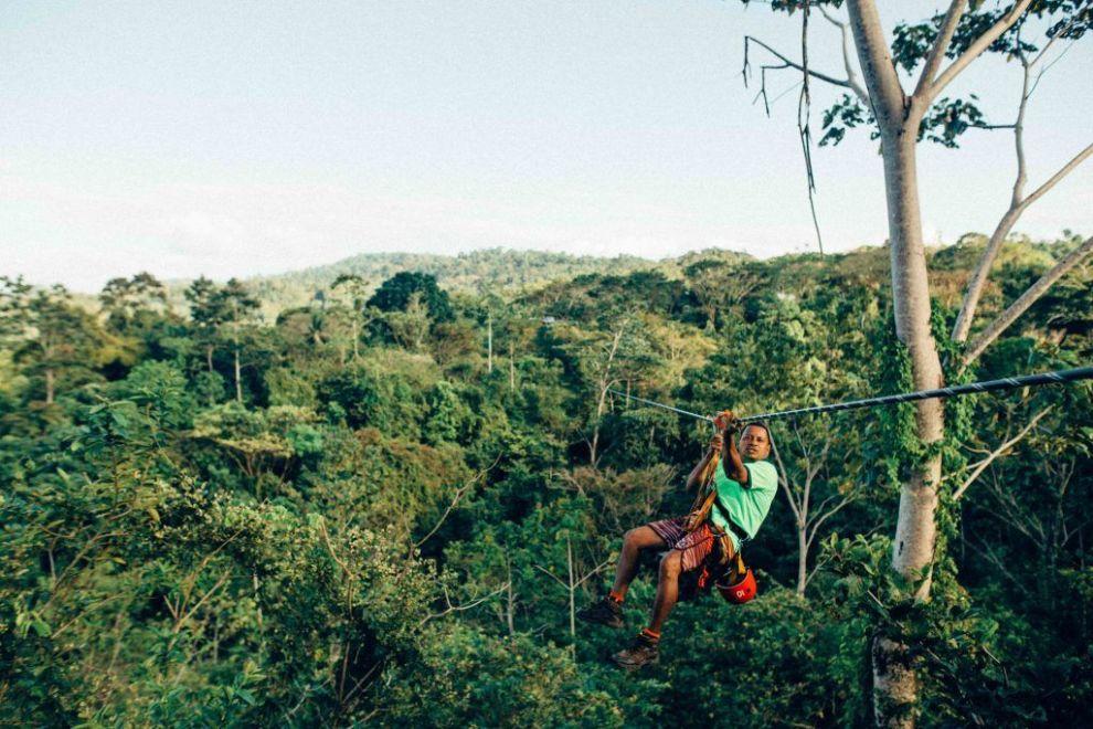 Kostarika Arenal Zipline putovanja