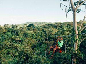 Voyage en tyrolienne au Costa Rica Arenal