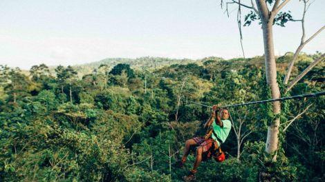 Costa Rica Arenal zipline Rejser