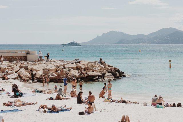 Frankrijk Franse Riviera Beach Travel