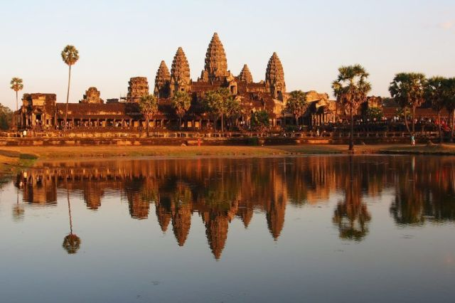 Cambodia Angkor Wat Tempel rejser