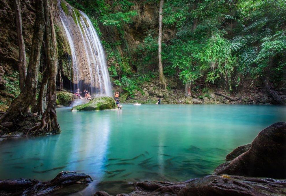 טיול מפלי קנצ'נבורי תאילנד