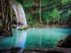 Thailand Kanchanaburi Vandfald Rejser