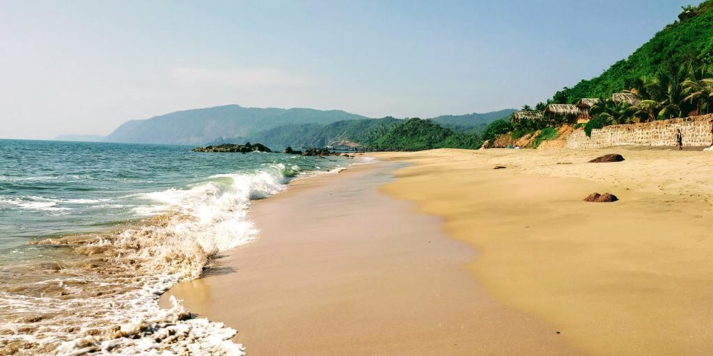 Indien - Goa, Cola Beach, strande i Goa - rejser