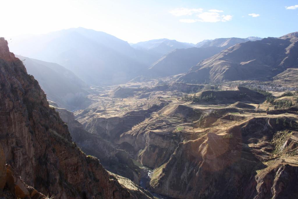 Peru - Colca Gorge - views - travel
