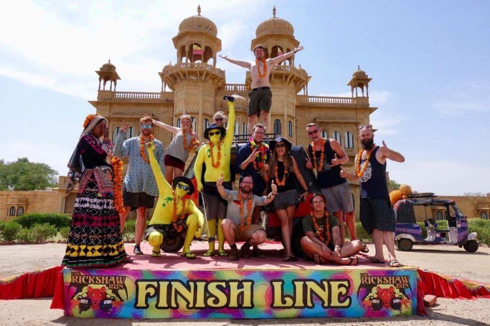 Indien Rickshaw Run