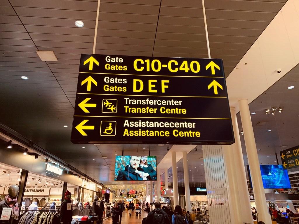 Københavns lufthavn rejser