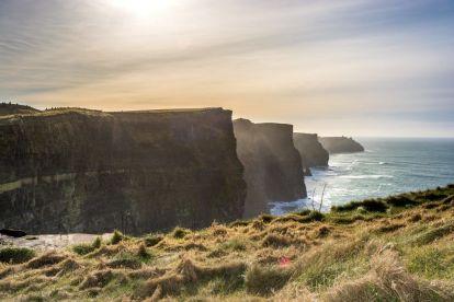 Irlandia - Moherowe Klify - podróże