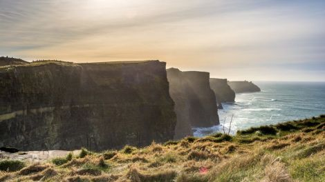 Irlanda - Penhascos de Moher - viagem