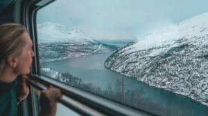 Norge Lapland tog grønrejs rejser