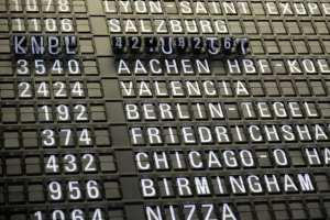 Airport - sign. flights - travel