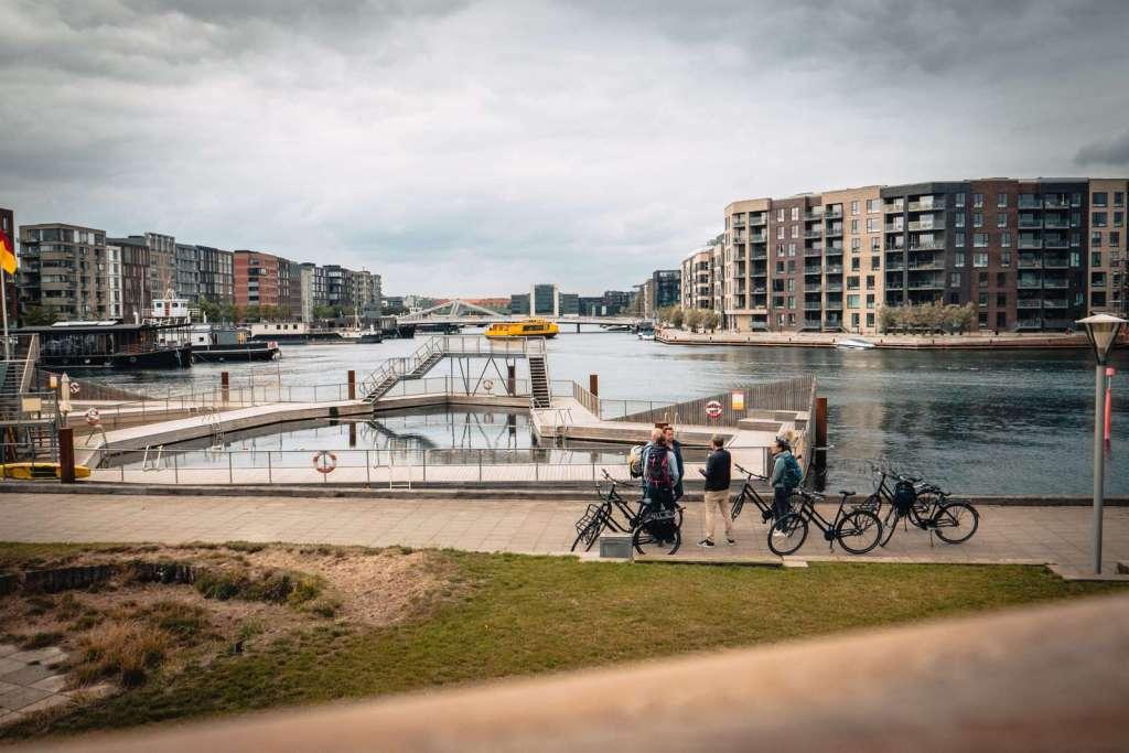 Denmark - Copenhagen, Sydhavn - paglalakbay - holiday sa tag-init sa denmark