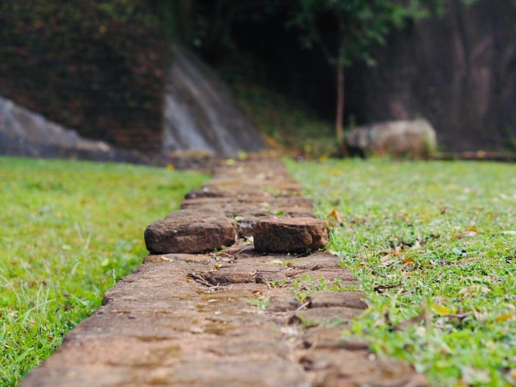 Sri Lanka - sigiriya løveklippen - trappe - rejser