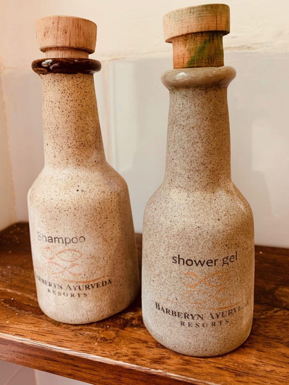 Sri Lanka - Barberyn ayurvedic beach resort weligama - shampoo - rejser