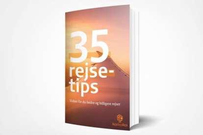 電子書籍35の最高の旅行のヒントフロントページの旅行