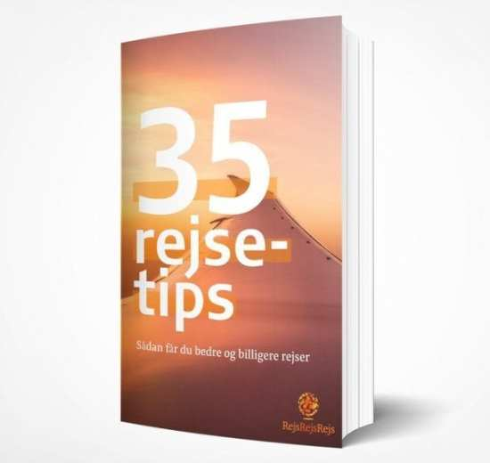 E-bog 35 bedste rejsetips forside rejser